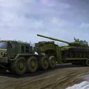 MAZ-537G Late Production type with ChMZAP-9990 semi-trailer