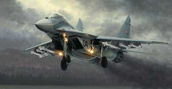 MIG-29A Fulcrum (Izdeliye 9.12)