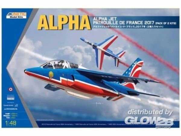 Alpha Jet - Patrouille de 2017 2-in-1 kit