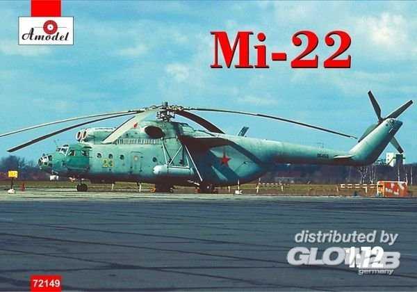 Mi-22 Soviet Helicopter