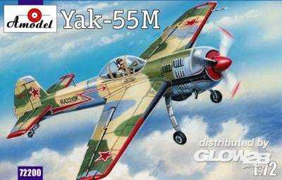 Yak-55M Soviet aerobatic aircraft