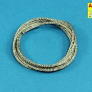 Stainless Steel Towing Cables fi 2.5mm. 125 cm long