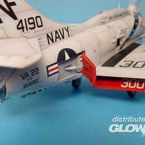 A-4 Skyhawk - Airbrakes - opened [Hasegawa]