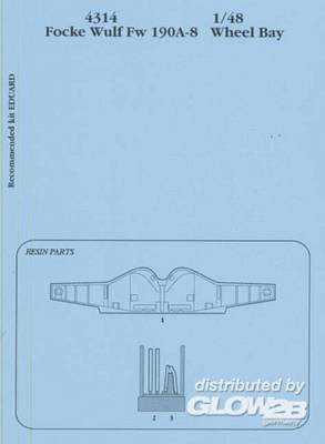 Focke-Wulf Fw 190 A-8 - Wheel bay [Eduard]