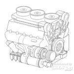 Maybach HL230 P45 – WWII German tank engine