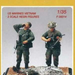 US Marines Vietnam (2 Figuren)