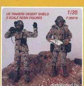 US Tankers Desert Shield (2 Figuren)