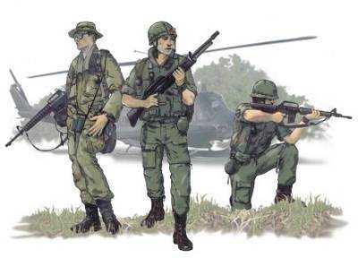 US Airborne Vietnam War