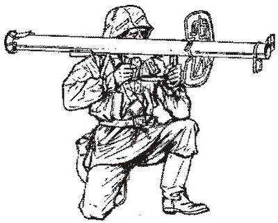 Wehrmacht tank hunter marching
