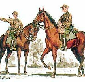 Wehrmacht - Mounted infantry set