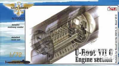 U-Boot Typ VII C - Maschinenraum