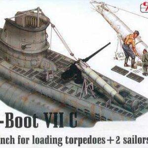 U-Boot Typ VII C - Torpedowinsch [Revell]