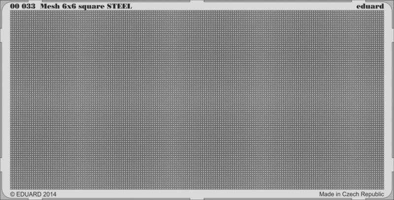 Mesh 6×6 square STEEL