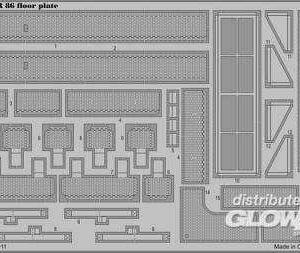 BR 86 - Floor plate [Trumpeter]