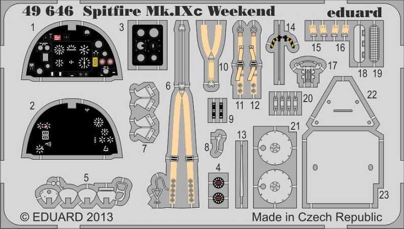 Spitfire Mk.IXc – Weekend Edition