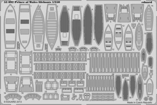 Prince of Wales lifeboats [Tamiya]