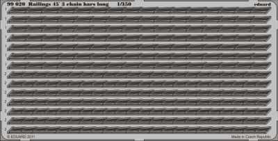 Railings 45´3 chain bars long