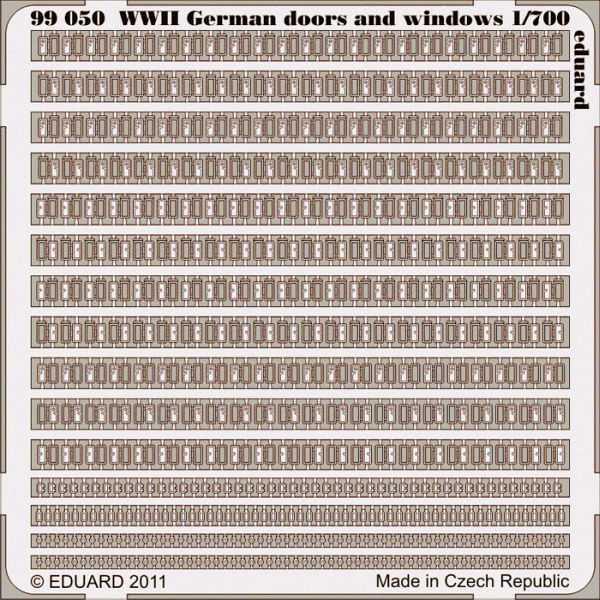 German doors and windows WWII