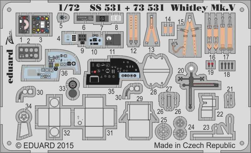 Whitley Mk.V S.A. [Airfix]