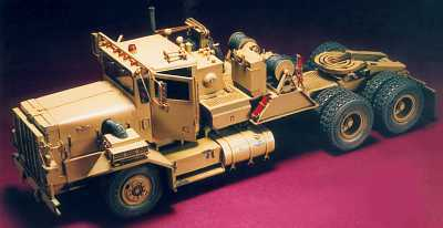 M911 8x6 25-Ton Heavy Equipment Transp.