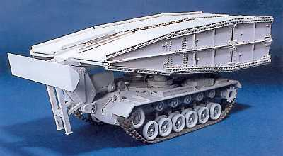 M48 AVLB Armored Vehicle Launched Bridge