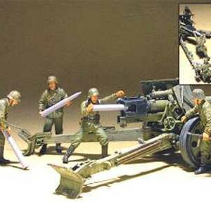 German Pak 43/41 Gun Crew- 4 Figures