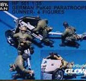 German PaK40 paratroopers gunner- 4 Fig.