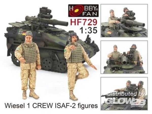 Wiesel 1 Crew ISAF - 2 figures