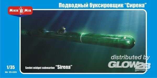 Soviet midget submarine Sirena