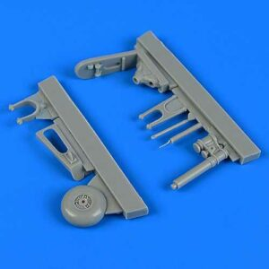 Focke Wulf Fw190 F-8 - Tail wheel assembly [Revell]
