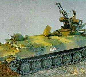 MTBL-ZU-23-2 mit Flakzwilling