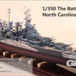 The Battleship USS North Carolina [Trumpeter]