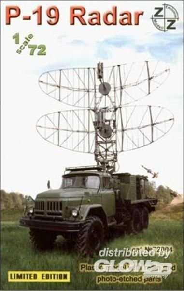 P-19 Soviet radar vehicle