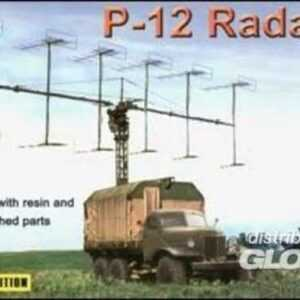 P-12 Soviet radar vehicle
