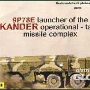 9P78E ´Iskander´ mobile launcher