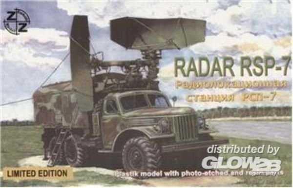 RSP-7 Soviet radar vehicle