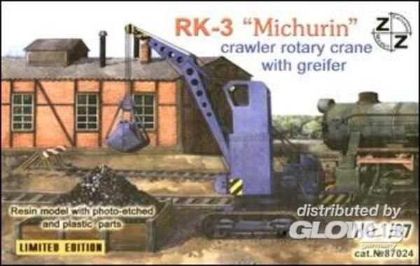 PK-3 Michurin crawler rotary crane