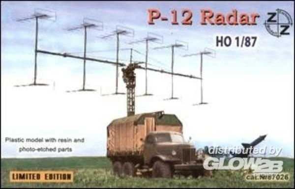 P-12 Soviet radar vehicle