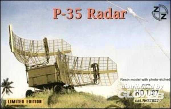 P-35 Soviet radar vehicle