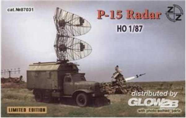 P-15 soviet radar vehicle