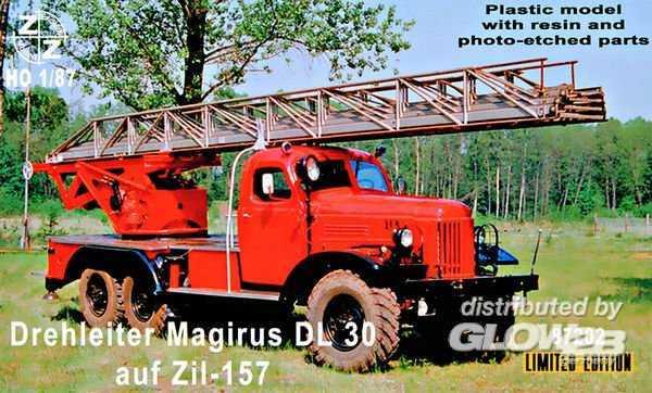 Drehleiter Magirus DL30 auf Zil-157 - Limited Edition