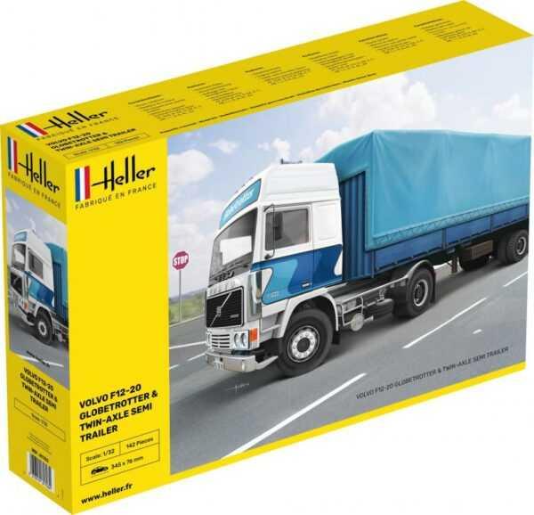 F12-20 Globetrotter & Twin-Axle Semi trailer
