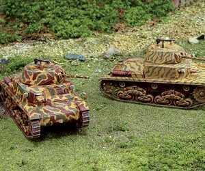 Panzer M13/40 - 2 Stück