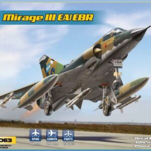 Mirage IIIEA/EBR - Fighter-bomber (6 camos)