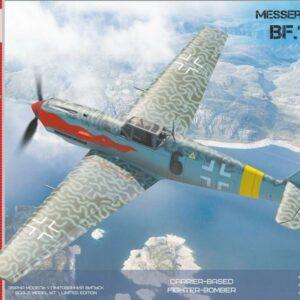 Messerschmitt Bf-109 T1/T2 - Carrier-based fighter-bomber