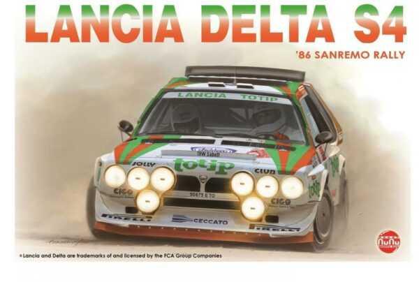 Lancia Delta S4 Sanremo Rally 86