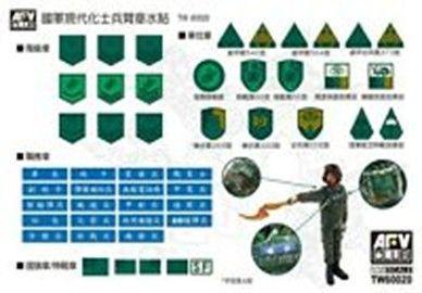 ROC Modern Military Armband Decal