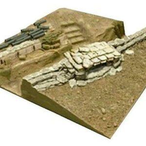 U.S. V.N. War Machine Gun Bunker Base (III)