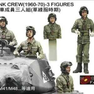ROC Army Tank Crew (1960-70) - 3 Figuren