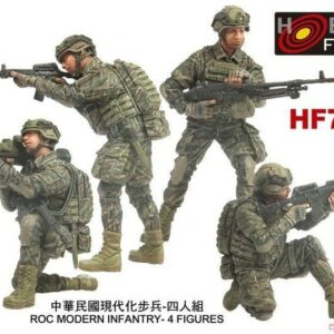 ROC Modern Infantry - 4 Figuren